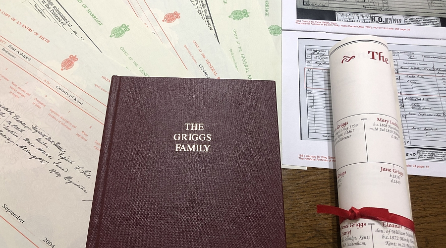 Family Tree Research Package